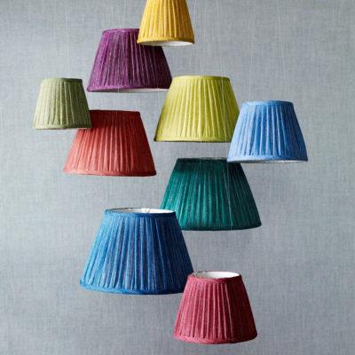 Hanging Plain Lampshades HIGH jpg